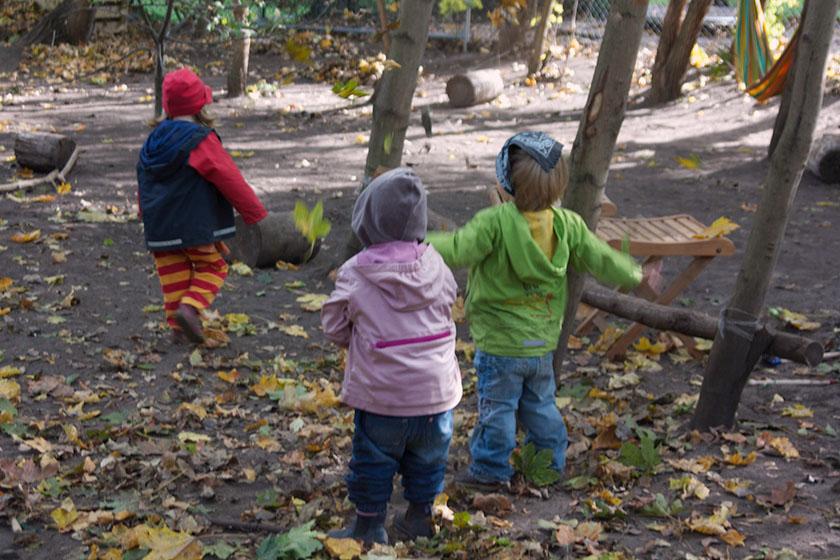 projekt garten gestalten kindergarten